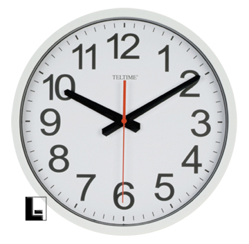 12 commercial wall clock white lodgingkit com