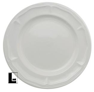 Empire Simply White Stoneware Dinner Plate Lodgingkit Com