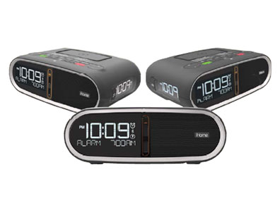iHome Easy Set Alarm, with Bluetooth, Qi & PMA Wireless Charging
