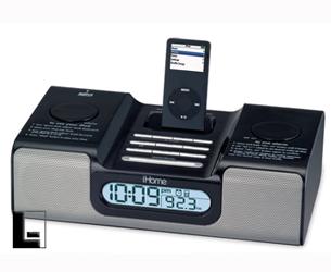 ihome hih66b black mp3 docking alarm clock radio discontinued rh lodgingkit com ihome clock radio manual ihome clock radio manual