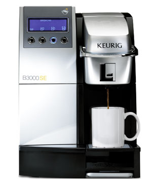 The Keurig 174 K3000se Commercial Single Cup Brewer