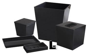Spa Black Resin Amenity Tray Lodgingkit Com