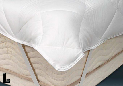 twin size mattress pad anchor band 39x80 12 oz
