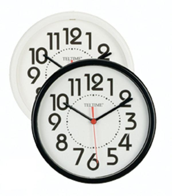 BW Wall Clock