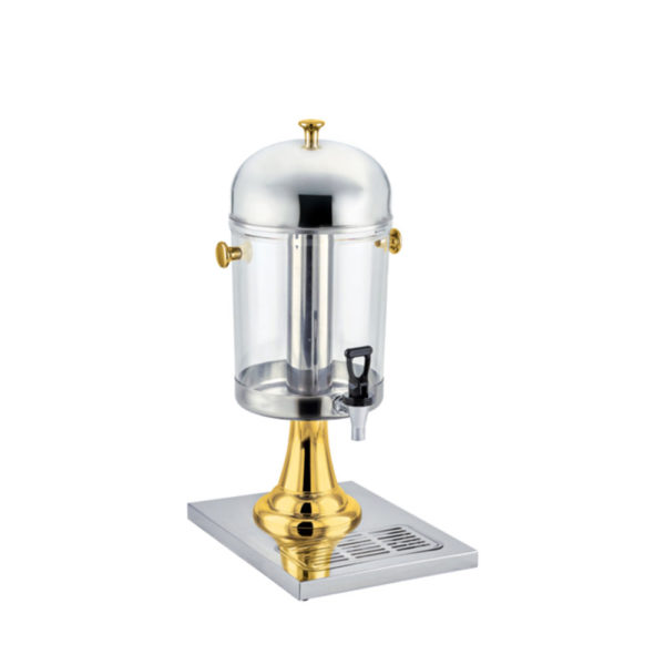Stainless and Brass Juice Dispenser
