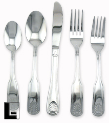 Serving Spoon, Fanfare, Flatware