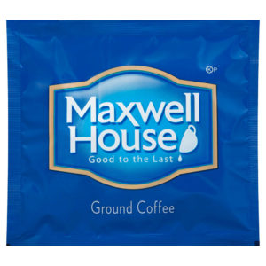 Maxwell House Ground Coffee Filter Pack