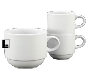 Fortessa Fortaluxe Superwhite Ilona 8 Oz Stacking Coffee Cup Price Per 2 Dozen Lodging Kit Company