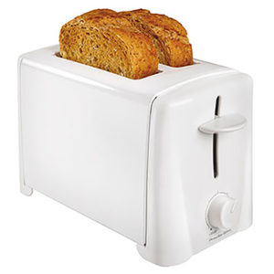 Two Slice Kitchen Toaster Wide