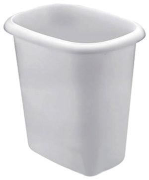 Vanity Basket, Waste Basket, 6 Quart