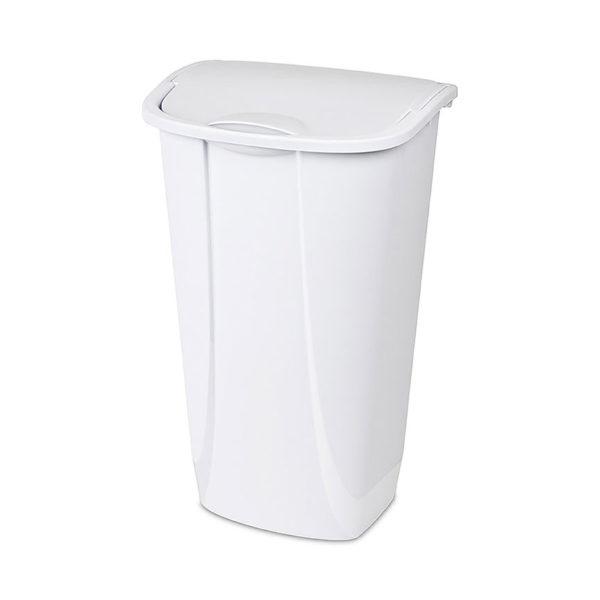 Flip Top Wastebasket Trash Can Bin