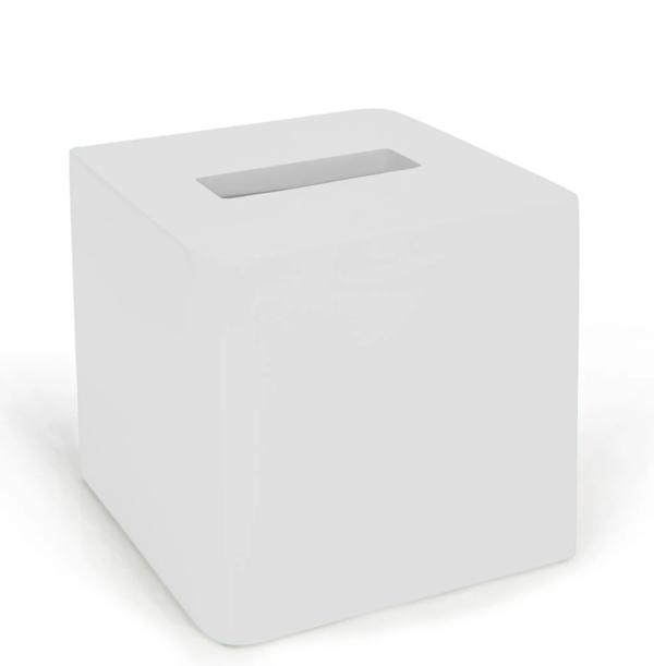 Lacca Tissue Holder White