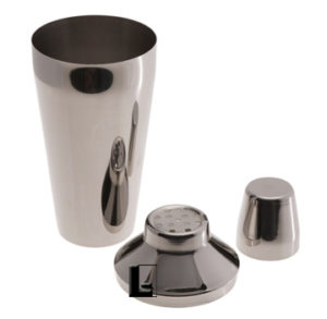 3 pc shaker set, stainless
