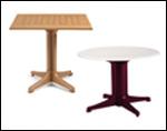 Molded Melamine Tables