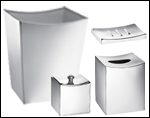 Monaco Stainless Steel Bath Collection