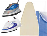 Irons, Ironing Boards and Supplies