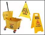 Commercial Mop Buckets & Accessories