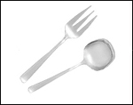 Serving Fork & Spoon