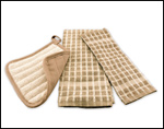 Taupe/Natural Kitchen Linens