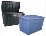 Plastic Totes & Storage Containers