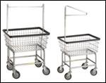 Wire Laundry Carts & Racks