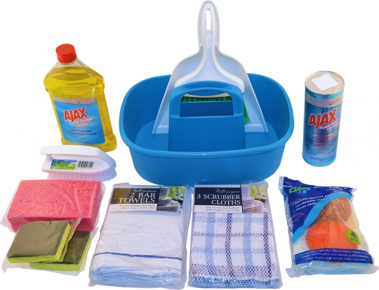 Under the Counter Cleaning Kits
