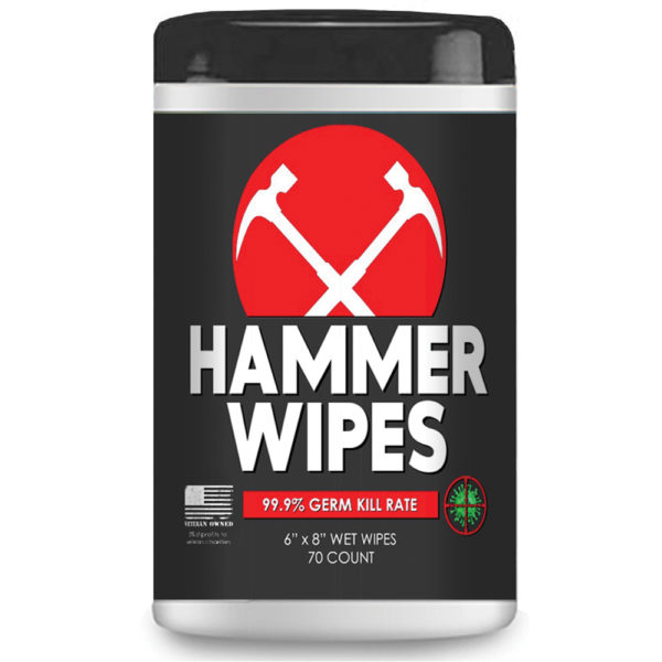 Hammer Brand Disinfectant Wipes