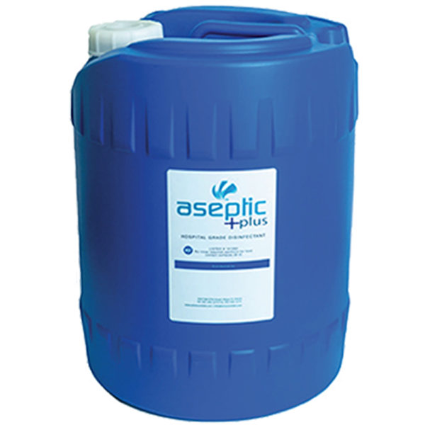 5 Gallon Aseptic Plus Disinfectant Solution