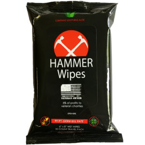 Hammer Wipes Wet Wipes Travel Pouch