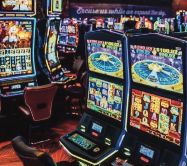 Antimicrobial Copper Film on casino équipement, gaming covers