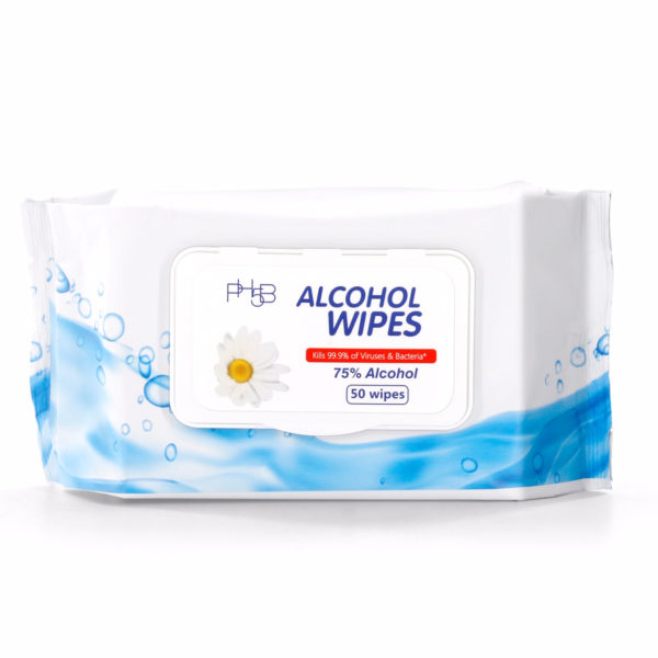 Disposable Alcohol Wipes
