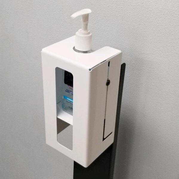 Adjustable Hand Sanitizer Security Bracket