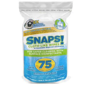 SNAPS!™ XL Cloth-Like Wipes, DIY Wet Wipes