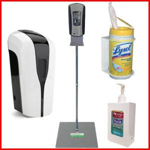 Dispensers, Brackets & Floor Stands