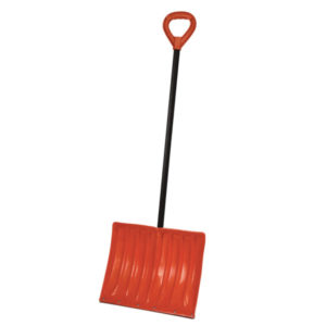 Bigfoot poly snow shovel with metal edge