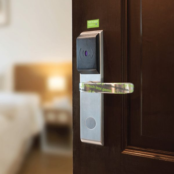 antimicrobial door handle cover