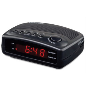 CONAIR® Compact Alarm Clock RadioWCR02