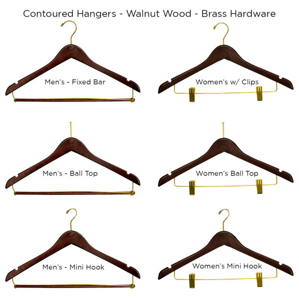 Contour-Hangers-Walnut-for hotel guest rooms-ALL