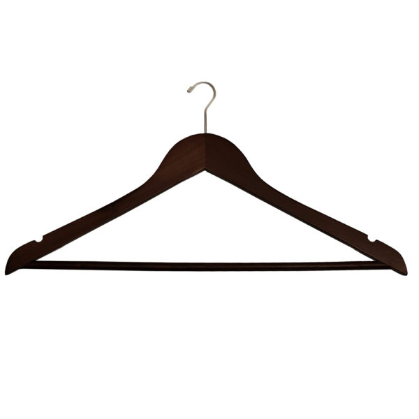 Mini Hook Men's Suit with Lock Bar - Mahogany-Chrome-for-hotels-34291