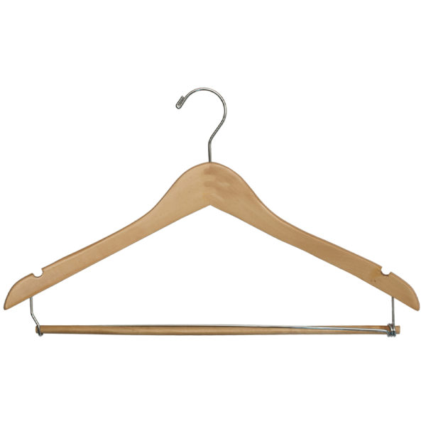 Regular Hook Men's Suit with Lock Bar - Natural_Chrome-for-hotels-34171