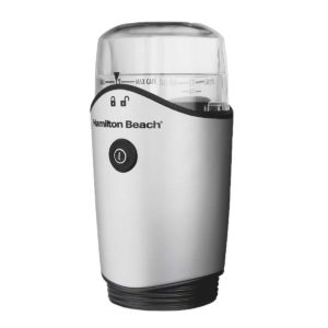 Electric Coffee Grinder, Stainless, 12 Cup