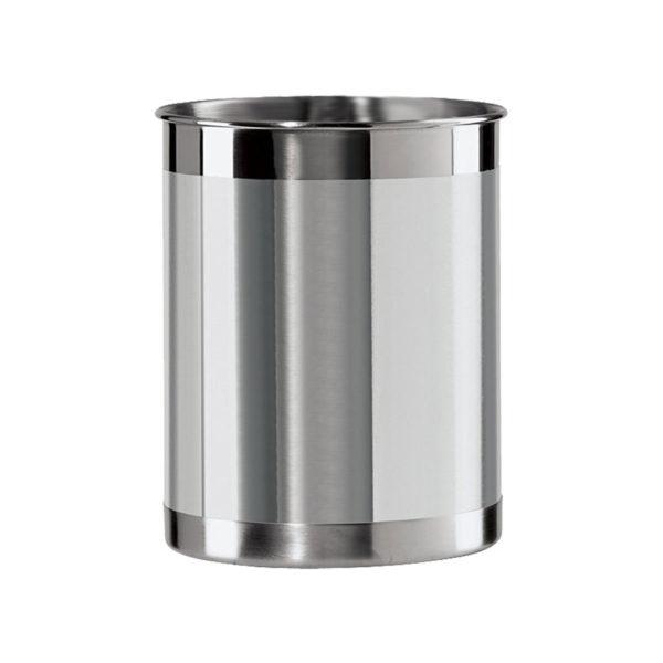 Brushed Stainless Steel Utensil Holder