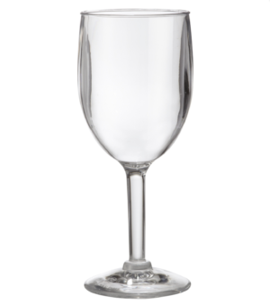 8 oz San Plastic Wine Glass