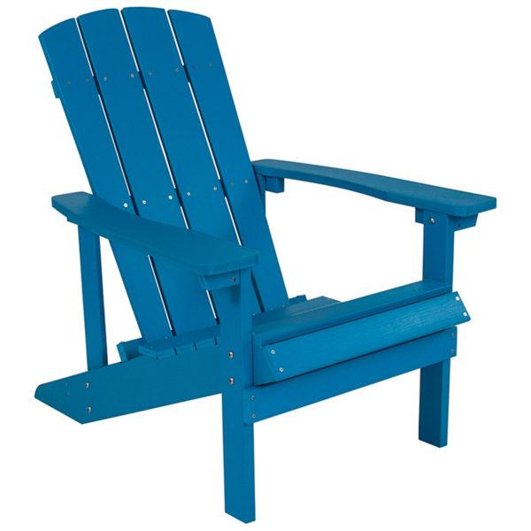 Adirondack Chair, Composite Wood, Blue