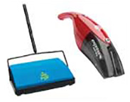 Hand Held Vacuums and Sweepers