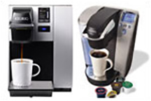 K-Cup Brewers, Accessories and K-Cups