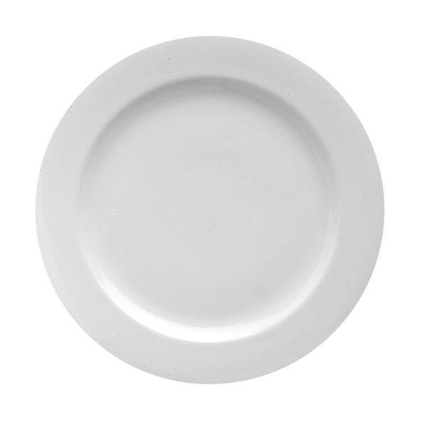 Royal porcelain avalon plate, luxury hotel banquet dinnerware by Steelite