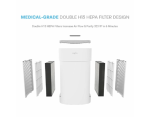 HEPA Air Filtration System for hotels