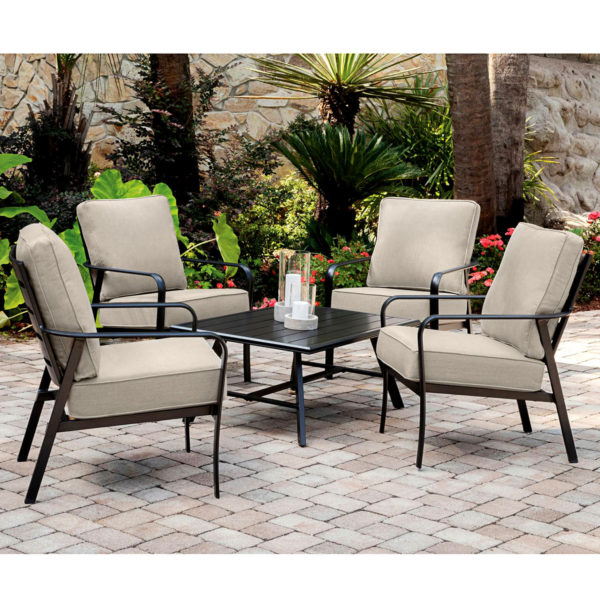 Outdoor Resort Chairs, Comfortable Cushion, Weather Proof, Aluminum