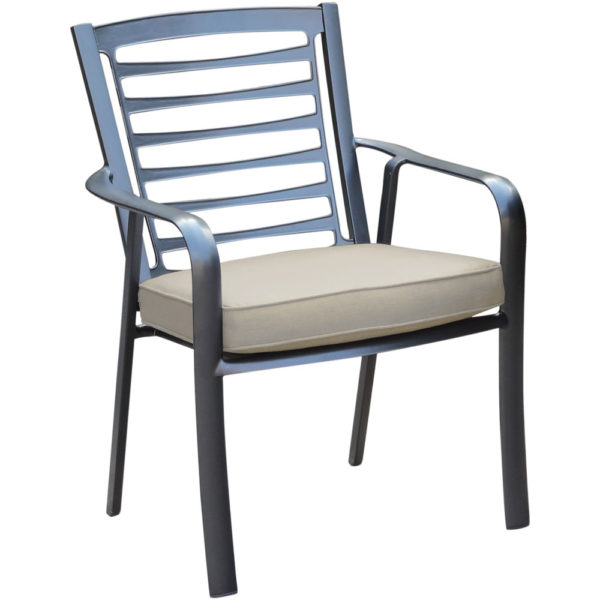 Cape Soleil Commercial Chair with Outdoor Cushion